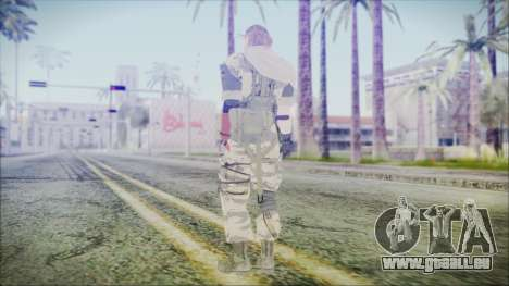 MGSV Phantom Pain Snake Scarf Tiger für GTA San Andreas dritten Screenshot