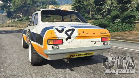 Ford Escort MK1 v1.1 [Carrillo] für GTA 5