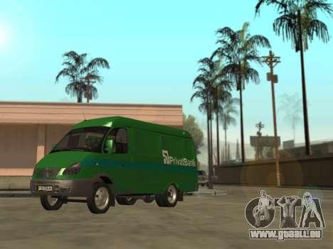 GAZelle 2705 Privat v2 für GTA San Andreas linke Ansicht
