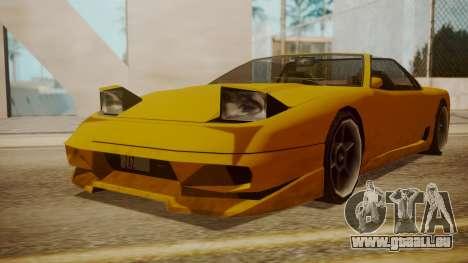 Better Super GT für GTA San Andreas