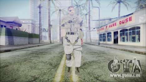 MGSV Phantom Pain Snake Scarf Desert pour GTA San Andreas deuxième écran