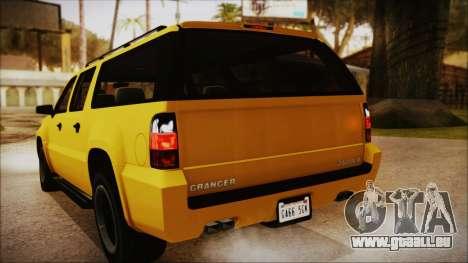 GTA 5 Declasse Granger IVF pour GTA San Andreas vue de côté