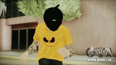 DLC Halloween GTA 5 Skin 3 für GTA San Andreas