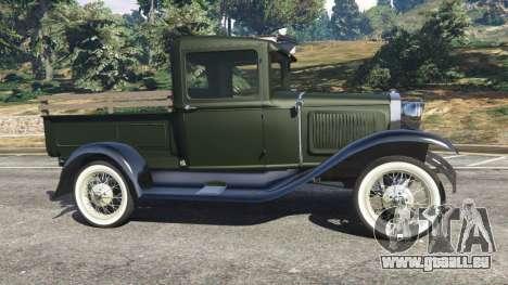 Ford Model A Pick-up 1930 für GTA 5