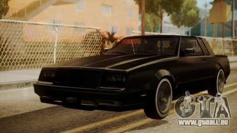 GTA 5 Faction Stock DLC LowRider pour GTA San Andreas laissé vue