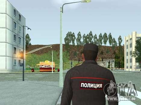 Der Sergeant der KKS in der form der neuen Probe für GTA San Andreas zweiten Screenshot