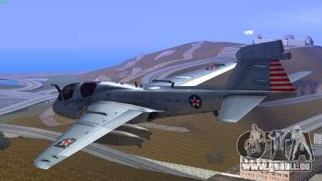 Northrop Grumman EA-6B Prowler VAQ-129 für GTA San Andreas linke Ansicht