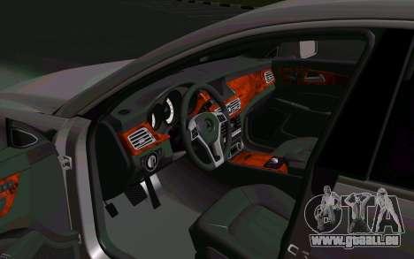 Mercedes-Benz CLS63 AMG pour GTA San Andreas vue de droite