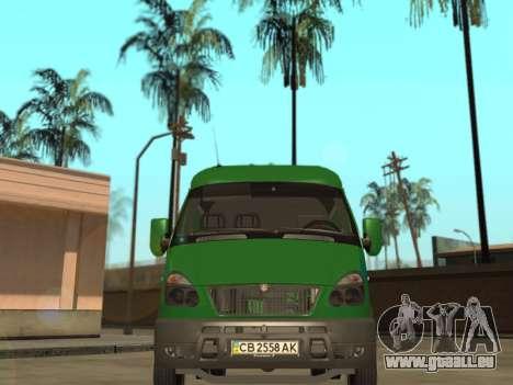 GAZelle 2705 Privat v2 für GTA San Andreas rechten Ansicht