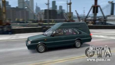 Daewoo-FSO Polonez Cargo Van Plus 1999 pour GTA 4 est une vue de dessous