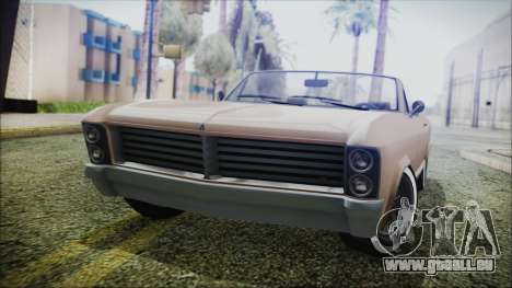 GTA 5 Albany Buccaneer Bobble Version IVF pour GTA San Andreas