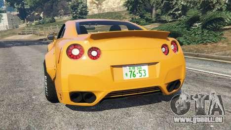 GTA 5 Nissan GT-R (R35) [LibertyWalk] hinten links Seitenansicht