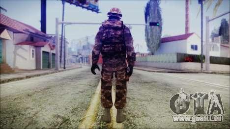 Chinese Army Desert Camo 2 pour GTA San Andreas troisième écran