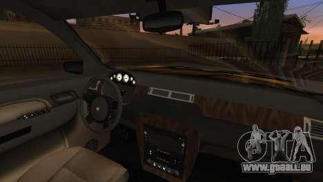 GTA 5 Declasse Granger IVF pour GTA San Andreas vue de dessus