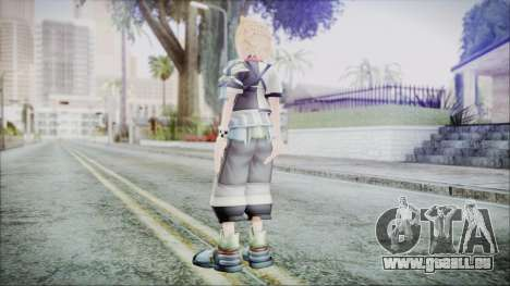 Kingdom Hearts Birth By Sleep - Ventus für GTA San Andreas dritten Screenshot