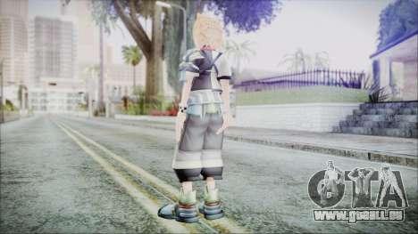 Kingdom Hearts Birth By Sleep - Ventus pour GTA San Andreas troisième écran