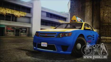 Cheval Fugitive Downtown Cab Co. Taxi pour GTA San Andreas
