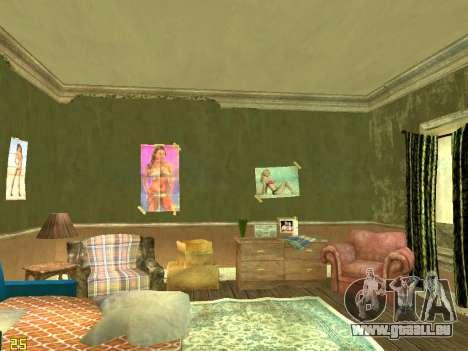 Appartement de GTA IV pour GTA San Andreas troisième écran