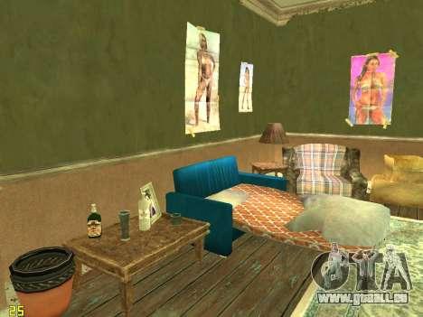 Appartement de GTA IV pour GTA San Andreas quatrième écran
