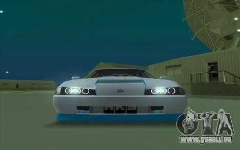 Elegy DRIFT KING GT-1 pour GTA San Andreas laissé vue