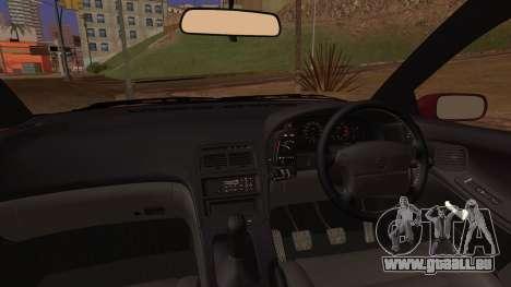 Nissan Fairlady Z Version S Twin Turbo 1994 für GTA San Andreas zurück linke Ansicht