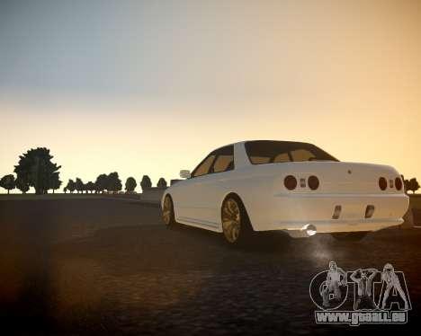 Nissan Skyline ER32 pour GTA 4 Vue arrière de la gauche