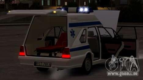 Daewoo-FSO Polonez Cargo Krankenwagen 1999 für GTA 4 Seitenansicht