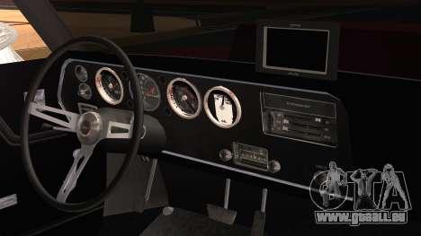 Chevrolet Chevelle Drag Car für GTA San Andreas rechten Ansicht