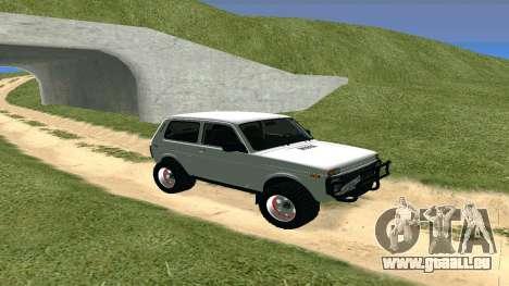 Lada Urban OFF ROAD für GTA San Andreas linke Ansicht
