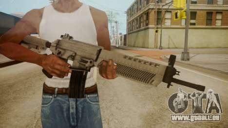 SIG-556 Patrol Rifle White pour GTA San Andreas