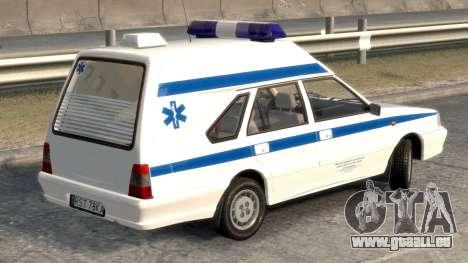 Daewoo-FSO Polonez Cargo Krankenwagen 1999 für GTA 4 hinten links Ansicht