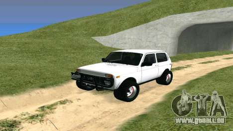 Lada Urban OFF ROAD pour GTA San Andreas