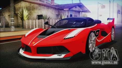 Ferrari FXX K 2016 v1.1 [HQ] pour GTA San Andreas