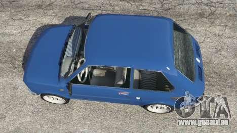 GTA 5 Fiat 126p v1.1 vue arrière