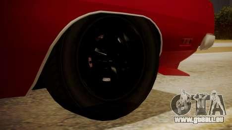 Dodge Charger O Death RT 1969 für GTA San Andreas zurück linke Ansicht
