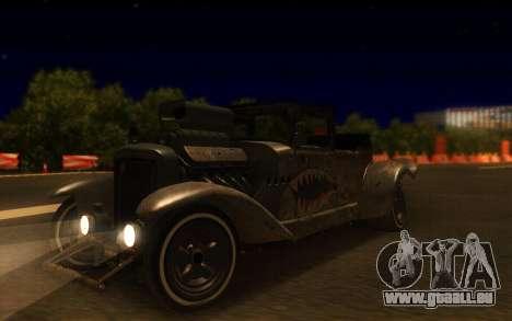 Albany Frenken Stange Rusty Edition für GTA San Andreas rechten Ansicht