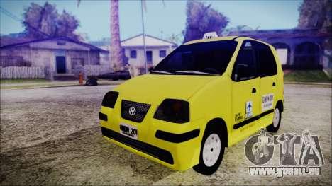 Hyundai Atos Taxi Colombiano für GTA San Andreas