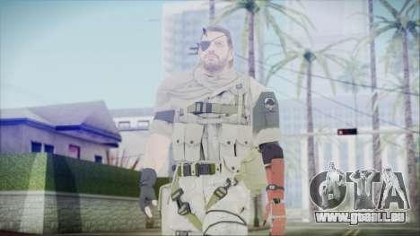 MGSV Phantom Pain Snake Scarf Desert pour GTA San Andreas