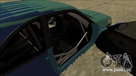Nissan Skyline R33 Drift Falken für GTA San Andreas Rückansicht