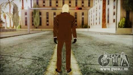 Hitman Absolution Agent 47 pour GTA San Andreas troisième écran