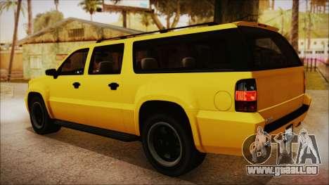 GTA 5 Declasse Granger IVF pour GTA San Andreas laissé vue