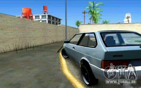 VAZ 2108 V1 pour GTA San Andreas sur la vue arrière gauche