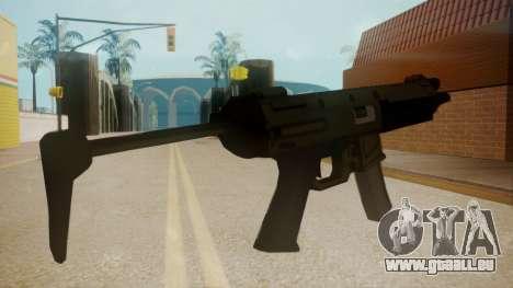 GTA 5 MP5 für GTA San Andreas zweiten Screenshot