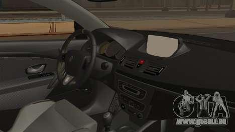 Renault Megane RS für GTA San Andreas rechten Ansicht