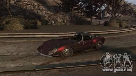 GTA V Stinger Classic für GTA 4 Seitenansicht