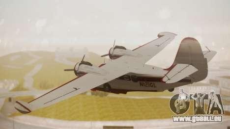 Grumman G-21 Goose N121GL für GTA San Andreas linke Ansicht