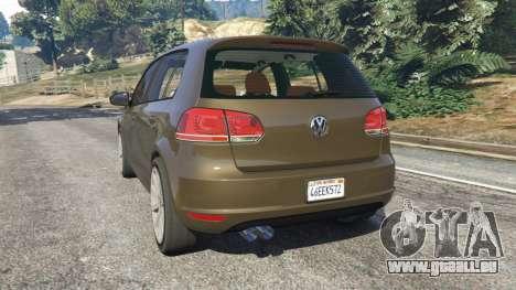 Volkswagen Golf Mk6 für GTA 5