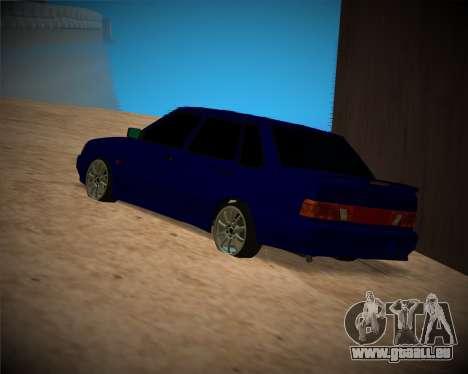 VAZ-2115 für GTA San Andreas obere Ansicht