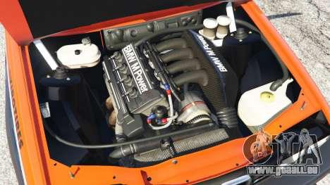 GTA 5 BMW M3 (E30) 1991 [RST] v1.2 hinten rechts
