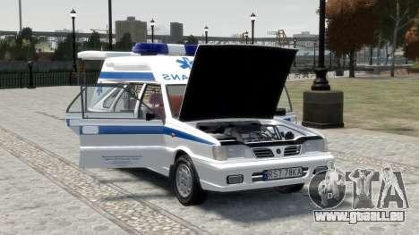 Daewoo-FSO Polonez Cargo Krankenwagen 1999 für GTA 4-Motor